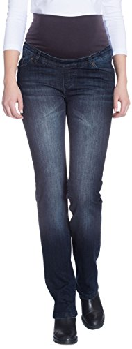 Bellybutton Maya - Hose Jeans-straight Leg - Vaqueros Mujer Blau (dark blue denim 0012)