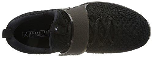 Black white Schwarz Flyknit Jordan Nike Black 2 Gymnastikschuhe Herren Trainer w7wzqIY