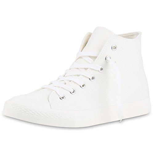 Sneaker Unisex Damen Übergrößen SCARPE VITA Weiss High Herren Weiss 1Iz4Bqw