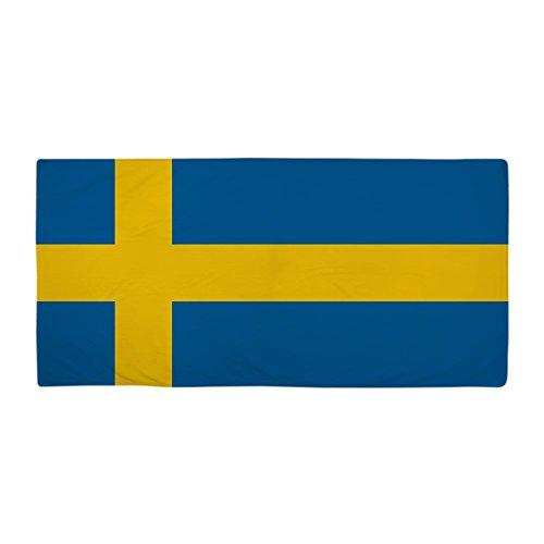 CafePress Swedish Flag Large Beach Towel, Soft 30