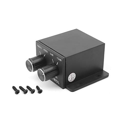 Autone Car Audio Regulator with Screws Amplifier Bass Subwoofer Stereo Equalizer Controller 4 ()
