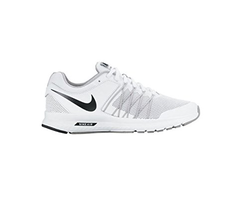 fcf80d54a2d2e Nike Women s Air Relentless 6 White Black-Wolf Grey Running Shoes (11)