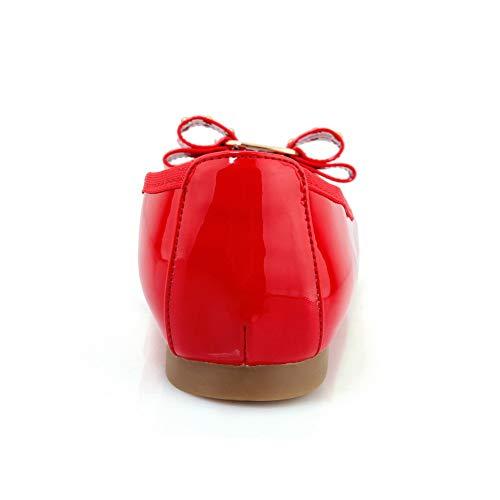 Rouge Compensées Sandales Red APL10868 36 Femme 5 BalaMasa 18qw7U8