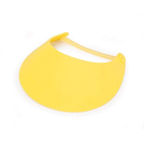 Darice Bulk Buy DIY Foamies Visor with Vinyl Coil Yellow (6-Pack) 1031-24]()