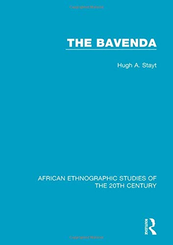 Download The Bavenda (African Ethnographic Studies of the 20th Century) pdf