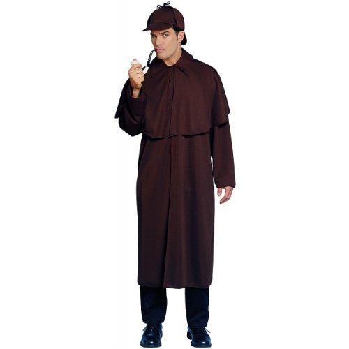 Costume Culture Men's Sherlock Costume, Brown, -