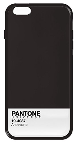 Case Scenario PA-IPH6P-AN Pantone Universe Fall und Stoßfänger für Apple iPhone 6 Plus anthrazit