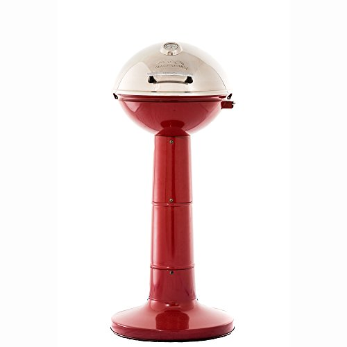 Masterbuilt Verdana Outdoor Patio 18 Inch 1650W Electric Pedestal Grill, Red by Regalo (Image #5)'
