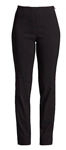 Robell - Pantalón - recto - Básico - para mujer negro 52