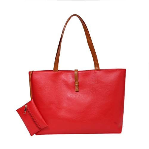 Bag Qirui Space Casual Buckle Red Shoulder Large Roomy Belt Bag OPnwHPqt