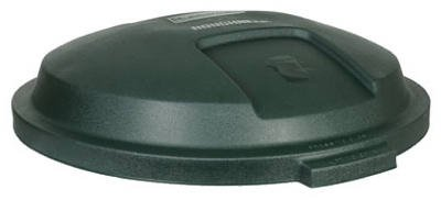 Rubbermaid FG5B3800EGRN Lid For 32-Gal. Roughneck Trash Can - Quantity 12 ()