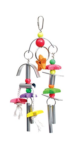 Prevue Pet Products Chime Time Whirlwind Bird Toy (Prevue Chime)