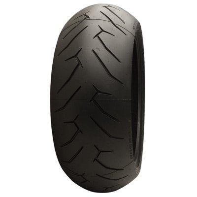 180/55ZR-17 (73W) Pirelli Diablo Rosso 2 Rear Motorcycle Tire for Kawasaki Ninja ZX-6R (ABS) 2013-2018 (Rear Ninja)