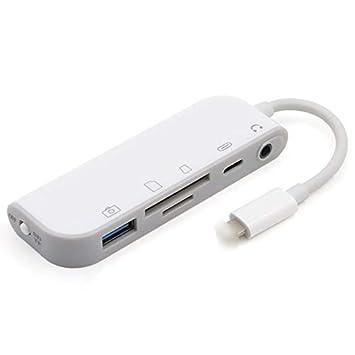 TOOGOO - Lector de Tarjetas SD/TF, USB 3.0, Adaptador de ...