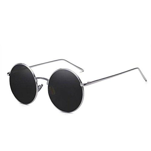 Prince DT Sol TD Espejo Frame Sol de Retro Round Macho Gafas de Gafas 2 2 Z8ZpfB