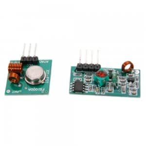 433Mhz RF Transmitter Module and Receiver Module Link Kit for Arduino
