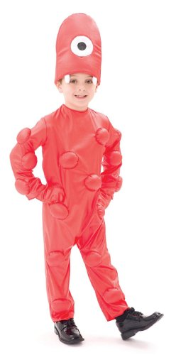 Muno Deluxe Toddler Costume - Toddler Medium (Muno Toddler Costumes)