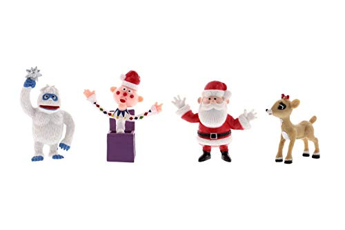 Rudolph The Red-Nosed Reindeer Figurine Set – 4 Piece Set, 2