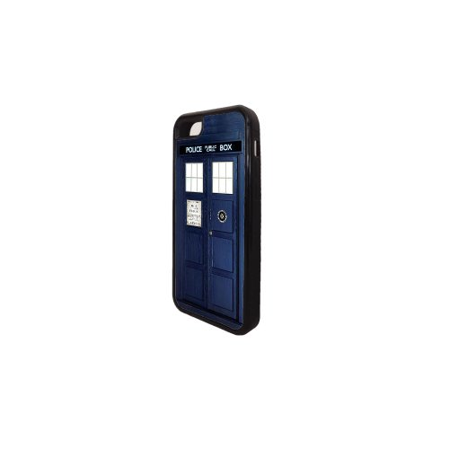 Doctor Who Tardis Iphone 5C Rubber Case black, Iphone Cover - All Carriers