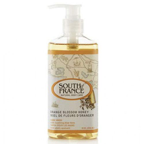 South of France Orange Blossom Honey Hand Wash - 8 Ounce (Pack of 2)