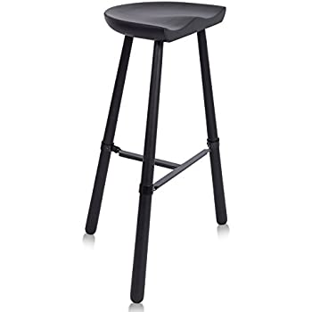 Amazon Com Birdrock Home Industrial Shoemaker Barstool