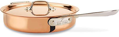 All Clad COPPER Exterior Cookware 3 Quart