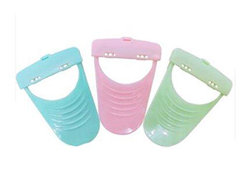 1Set(3Pcs) Portable Candy Color Lady Women Shaving Knife Female Shaving Manual Epilators Razors for Armpit Bikini Body Face