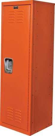 """Hallowell Kid Locker, 15""""W x 15""""D x 48""""H, 728 Hoop (orang..."""