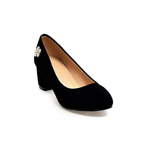 Femme Noir 5 1TO9 Compensées MMS06125 Sandales Noir 36 16tqZ7xw