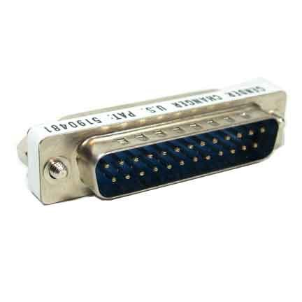 SF Cable, DB25 M/M Mini Gender Changer (Coupler)