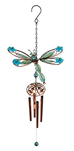 Red Carpet Studios Wings On Springs Wind Chimes, Blue Dragonfly by Red Carpet