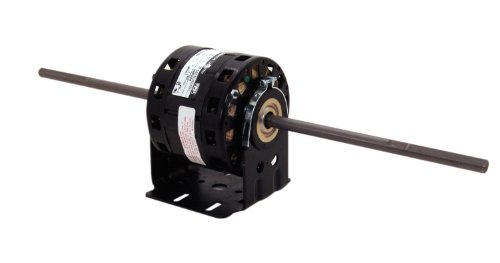 A.O. Smith DBL6501 1/10 HP, 1075 RPM, 4 Speed, 115 Volts 1.7-1.6-0.9-0.8 Amps, 42Y Frame, sleeve Bearing Direct Drive Blower Motor