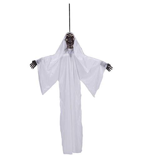 UOKNICE Halloween Prop Hanging Grim Reaper Scary Decoration Outdoor Decor -