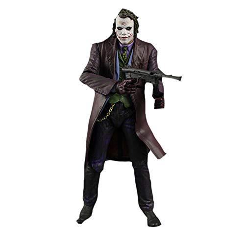 PLAYER-C 18Cm Cosplay Batman The Dark Knight Joker Heath Ledger PVC Action Figure Model Toys for Kids -