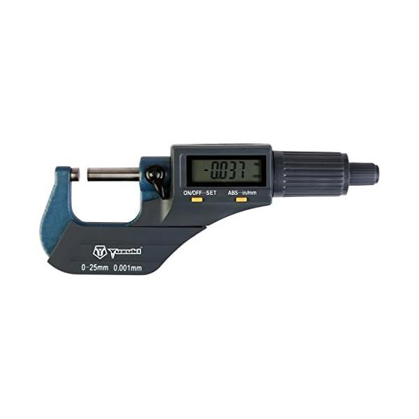 Yuzuki™ Electronic Micrometer, 0-25 Mm 1