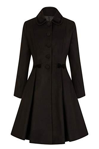 Style Manteau Vintage Olivia 22 Noeud 4XL Noir Hell UK Bunny 1xqUFwFP
