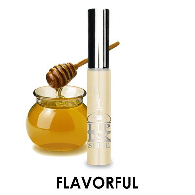 LIP INK Vegan Flavored Lip Shine Moisturizers - Glacier Honey