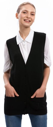Sleeveless Cardigan, Women's - 100% Cashmere - Citizen Cashmere S (41 116-02-01) Citizen Gift Set