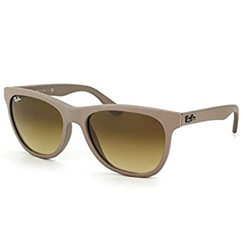 Ray-Ban RB4184 - MATTE BEIGE Frame BROWN GRADIENT Lenses