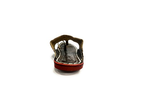 Kolhapuri Jutti Style Mojari Ethnic Indian Step Khussa Footwear Formal n Shoes Mens Slipon qTztwU