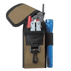 CRL 5-Pocket Cell Phone and Glass Cutter Holder - 1105CL