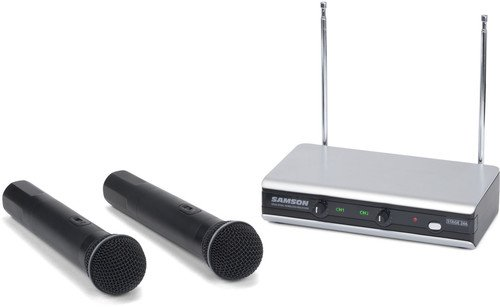Samson Stage v266 Handheld - Dual Vocal Wireless System - Ch 321