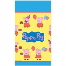 Peppa Pig Plastic Table Cover - Case Pack 6 Table Covers