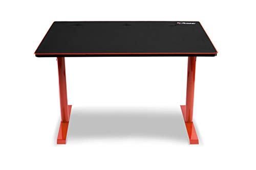 Arozzi Arena Leggero Compact Gaming Desk - Red