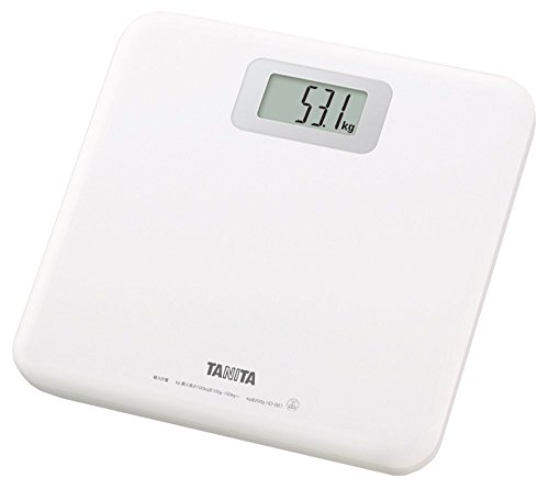 Health Meter Digital Hd-661-wh White - Step-on Type Switch to Turn the Ride Tanita]