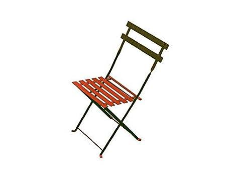 Arc en ciel Emu silla plegable de acero. Art. 314 color ...