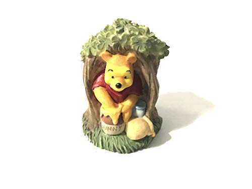 Lenox Disney Magic Thimble Collection Winnie The Pooh Figurine - Lenox Walt Disney Showcase
