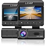 "LESHP 2.45"" Dash Cam,FHD 1080P HD Car Dashboard Camera DVR Video Recorder with Parking Monitor/G-Sensor/Super Night Vision 170° Viewing Angle Review"