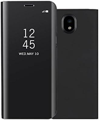 Funda® Espejo Enchapado Flip Funda para Samsung Galaxy J5(2017 ...