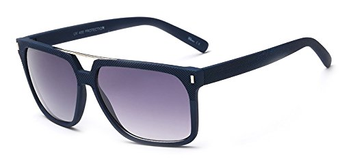 Classical UV Protection black Sunglasses with Reflect Light Colored - Uk Hut Shop Sunglass Online